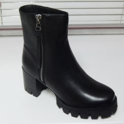 Πουλήστε, νέες, φυσικές, δέρμα μπότες αστράγαλο