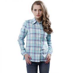 Женская рубашка в клетку.размер s