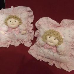 декоративные подушечки для спальной