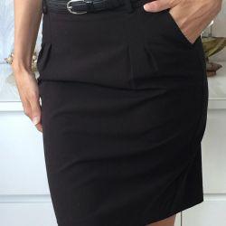 Новая юбка-карандаш из французского каталога