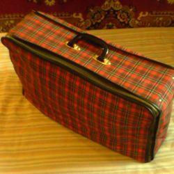 Suitcase tissue portable 55h34h14 cm