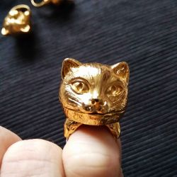 Gilded ring
