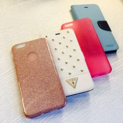 3 cases (case + 2 panels) new on iPhone 6+