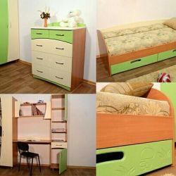 Παιδικά έπιπλα / τοίχο / κρεβάτι / σαλόνι