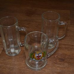 Beer mugs (New)