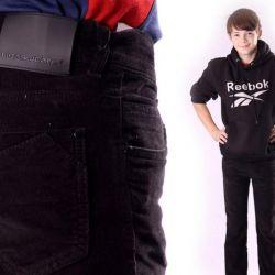 New velveteen pants 158 growth firm Ligas