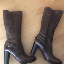 Real Leather Autumn Boots