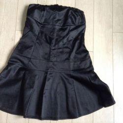 Платье - топ на 44-48 размеры ,  с эластаном,