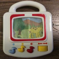 Музыкальный телевизор Simba развивающий детский