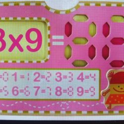 Multiplication table. NEW