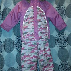 Winter suit for 6 years height 116