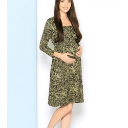 Dress for pregnant and lactating mothers