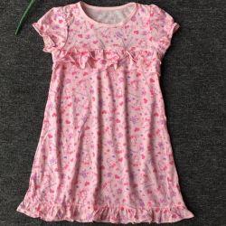 Ночная сорочка для девочки на рост 110