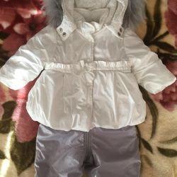 Jacheta și salopete pentru MegaGrin District 74/80 cm
