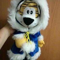 Παιδικό σακίδιο τίγρης.
