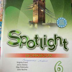 Spotlight workbook grade 6