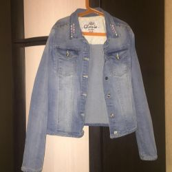 Denim jacket size 42-44