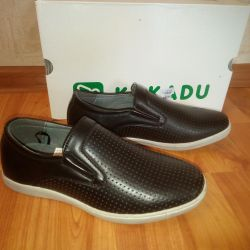 Kakadu perforated shoes. NEW