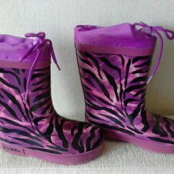 ZEBRA rubber boots insulated p28
