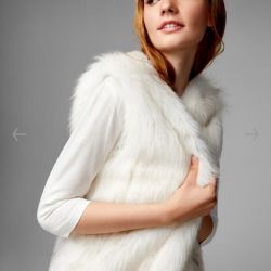 Stylish fur vest