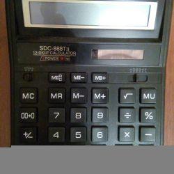 Citizen sdc-888tii 12-bit calculator b. la