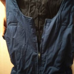 Overalls winter, inside batting, size 48-50, growth182