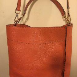 Δερμάτινη τσάντα Fendi
