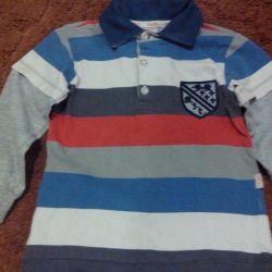 Jacket on the boy