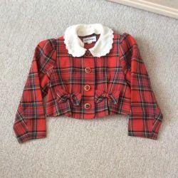 Пиджак укорочeнный