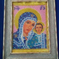Подарок.Икона Божьей матери