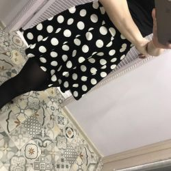 Skirt in the peas