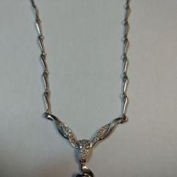 Necklace 585 with diamonds