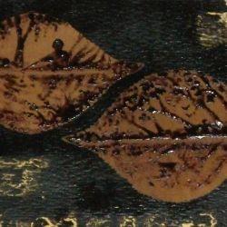 Painting COFFEE ON LEAVES