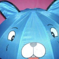 Ομπρέλα με αυτιά για μωρό