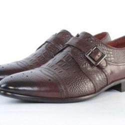 Мужские ботинки натуральная кожа
