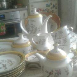 Set de ceai din RDG de la URSS. raritate