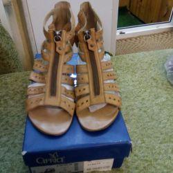 Deri sandaletler.pr.Almanya