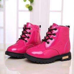 Ботинки детские,новые р. 22-30 ,  розовые