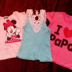 Kızlar için tişörtler!
