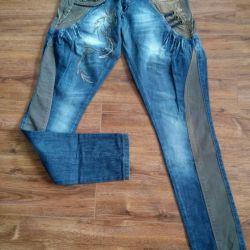 Новые джинсы галифе 42-44рр