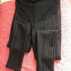 Mükemmel durumda hamile kadınlar için sıcak pantolon