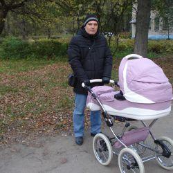 Stroller Tako Ballila 2v1 comp. new + sterilizer