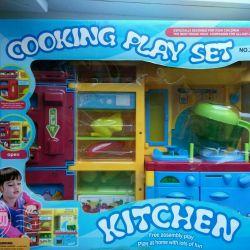 Νέα μπαταρία παιχνιδιών κουζίνας