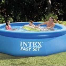 Надувной бассейн новый