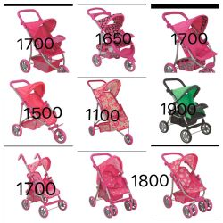 Stroller for dolls, summer