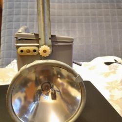 Accumulator iron lamp