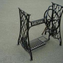 Bed by seamstress / mash ,, sienger ,, cast iron .. ORDER !!!