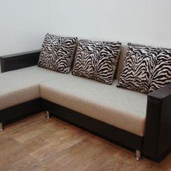 Yeni Köşe Kanepe Turin Zebra Flex Umber