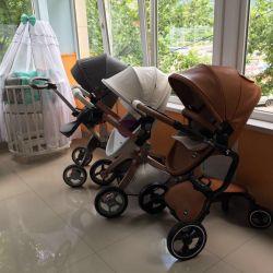 Bebek arabaları ve sandalyeler