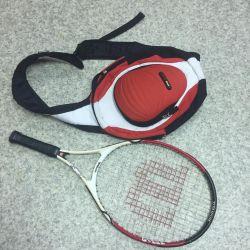 Racket for tennis (23) + bag